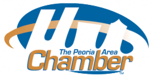 Peoria Area Chamber of Commerce logo