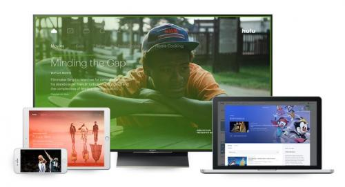 ott marketing examples on tv, laptop, phone, and tablet