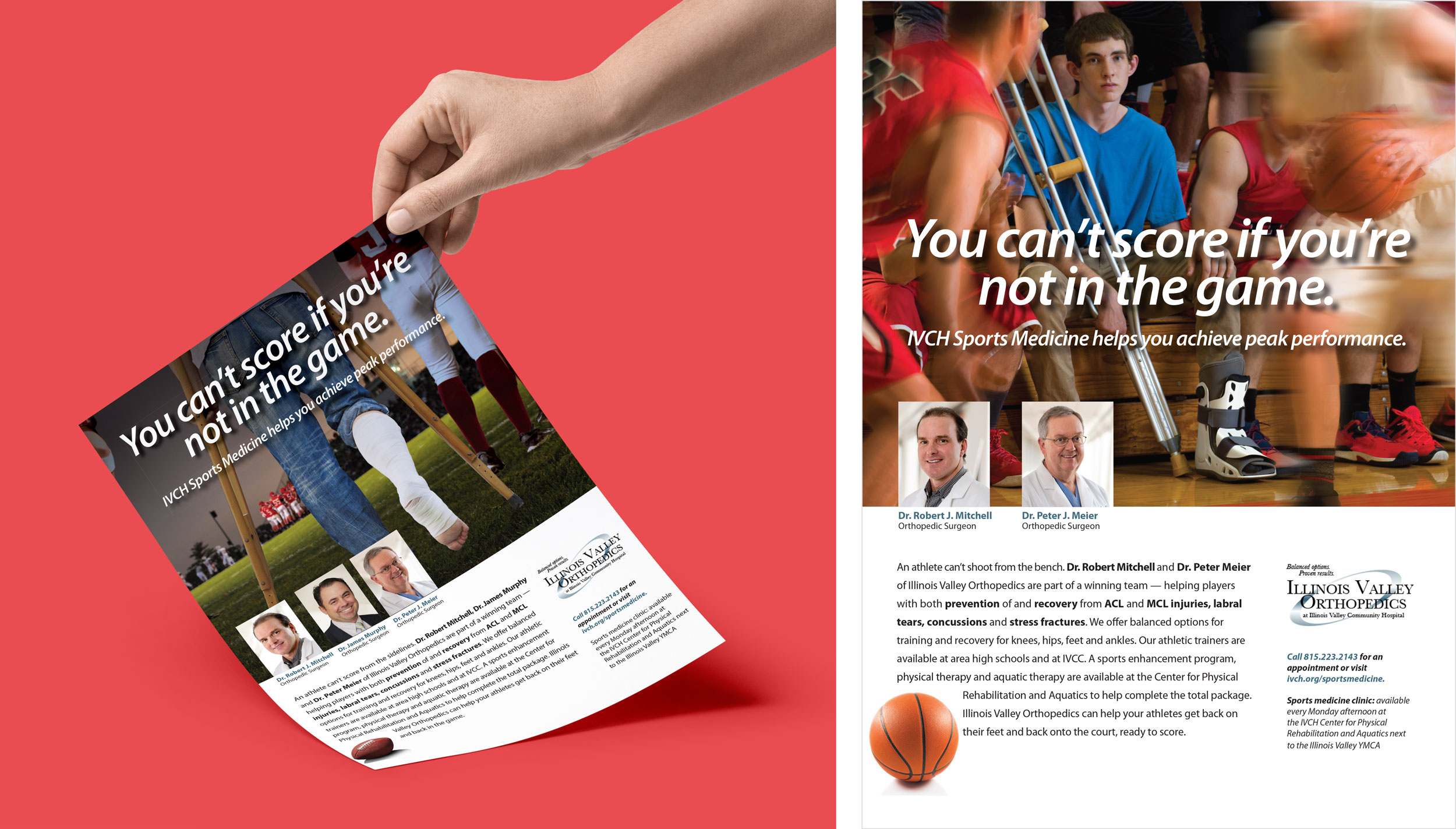 illinois volley community hospital healthcare marketing done by mcdaniels marketing
