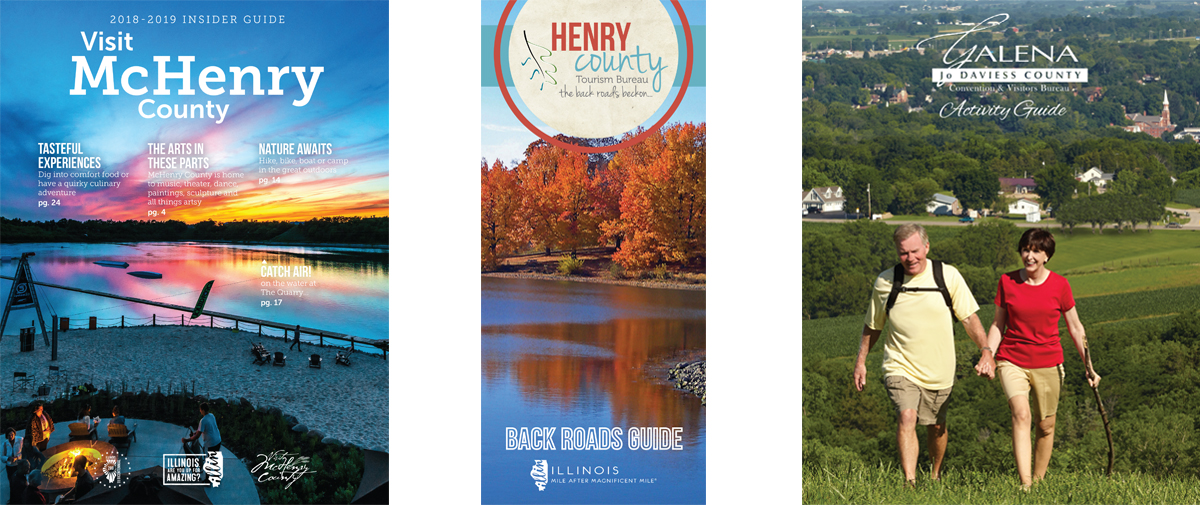 example visitor guides done for the tourism industry made by mcdaniels marketing