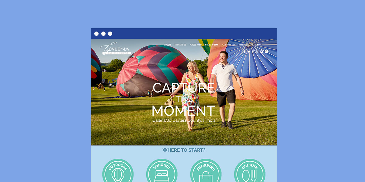 galena il tourism marketing website done by mcdaniels marketing